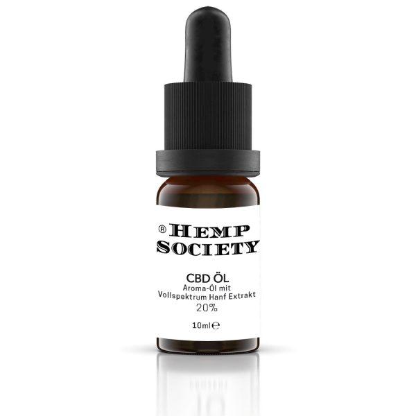 Hemp Society CBD Öl 20%